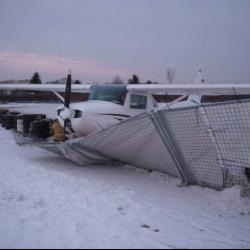 Kolizja z samolotu Cessna 150