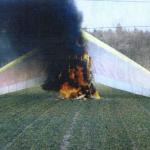 Pożar motolotni