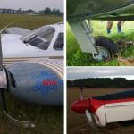 Skutki lądowania ze schowanym podwoziem